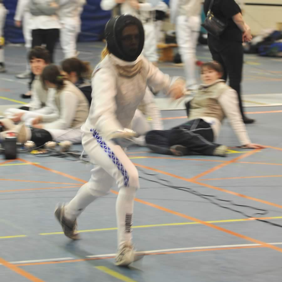 Image of Anna - Fencing