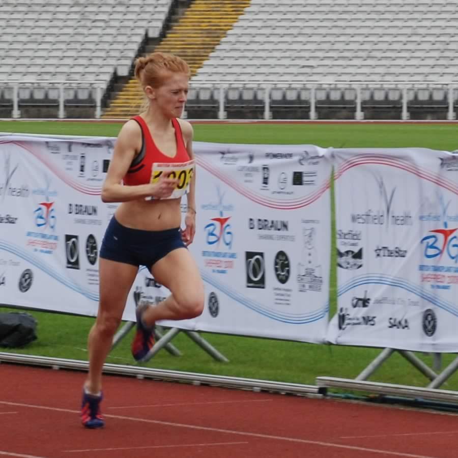 Image of Anna - on Running Track
