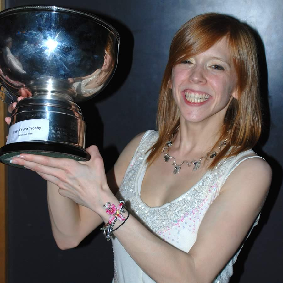 Image of Anna - with Trophy